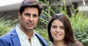Tana Rivera con su padre, el torero Fran Rivera