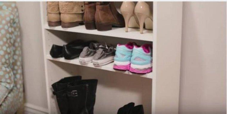 Cuatro trucos muy pr cticos para guardar los zapatos sin - Estanterias para calzado ...