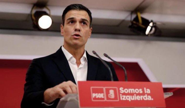 El líder socialista Pedro Sánchez