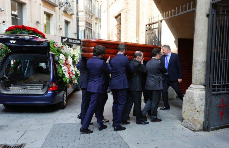 Funeral de Tomás Villanueva