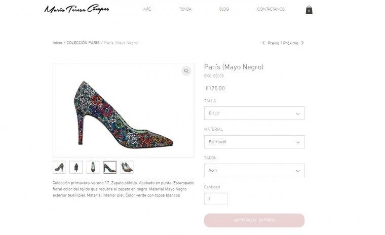 Precio Zapatos María A Críticas Por Teresa El De Que Los Campos xOUffZqwn1