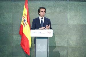 Imagen de archivo del expresidente, José María Aznar