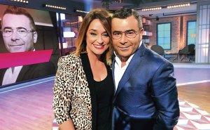 Imagen de Jorge Javier Vázquez junto a la presentadora Toñi Moreno