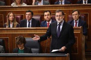 Imagen de Rajoy en el Congreso