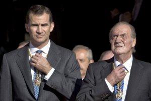 Juan Carlos y Felipe