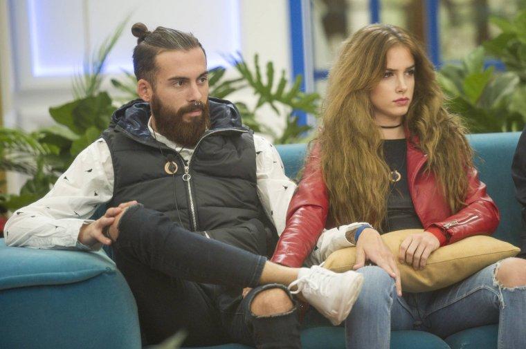 Carlota y José María en 'GH Revolution'