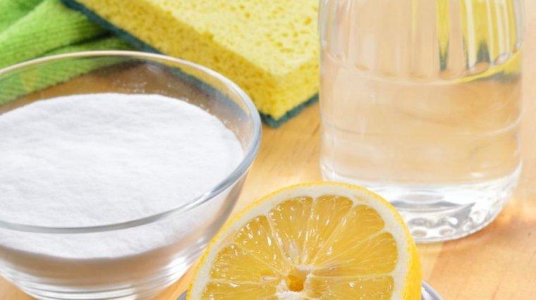 Limón, agua y bicarbonato: los ingredientes imprescindibles