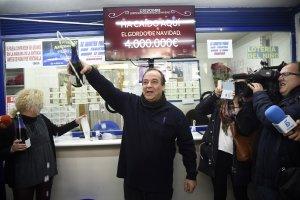 5 premi 1 Imagen de archivo del Sorteo Extraordinario de Lotería de Navidad.