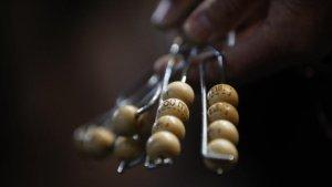 5 premi 8 Imagen de archivo del Sorteo Extraordinario de Lotería de Navidad.