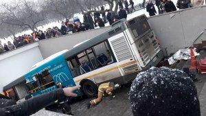 Cuatro personas han fallecido en Moscú tras ser atropelladas por un camión