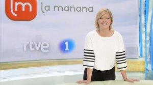 La presentadora de 'La Mañana de La 1', María Casado