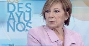 Celia Villalobos en 'Los Desayunos de TVE'