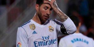El futbolista Sergio Ramos durante un partido