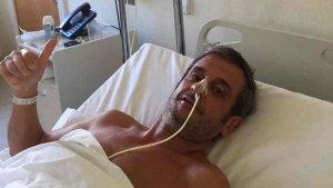 Luis Moya ha sido operado con éxito.