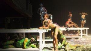 Imagen de una de las escenas de la obra.
