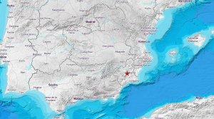 Terremoto registrado en Albudeite, Murcia