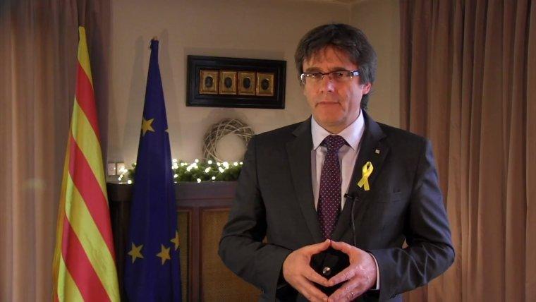 Carles Puigdemont des de Brussel·les
