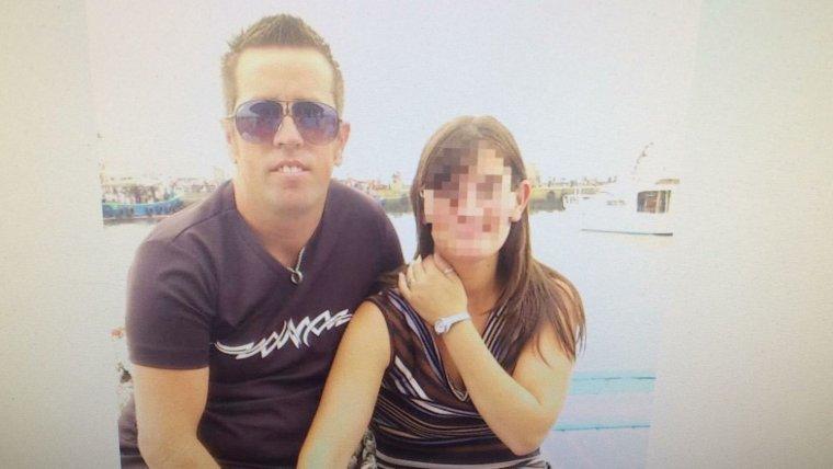 Imagen de 'El Chicle' con su mujer