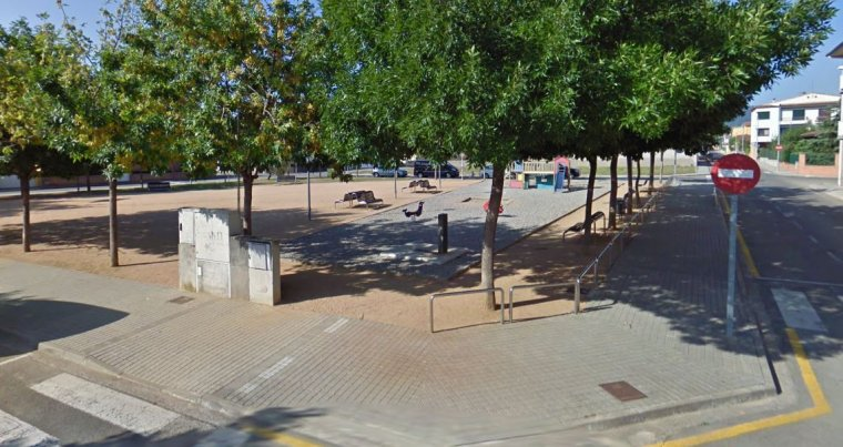 Imagen de la plaza donde tuvieron lugar los hechos.