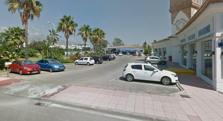 Imagen del aparcamiento en el que tuvieron lugar los hechos.