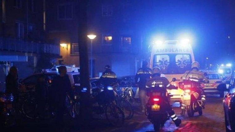 Imagen del lugar de los hechos en Amsterdam.