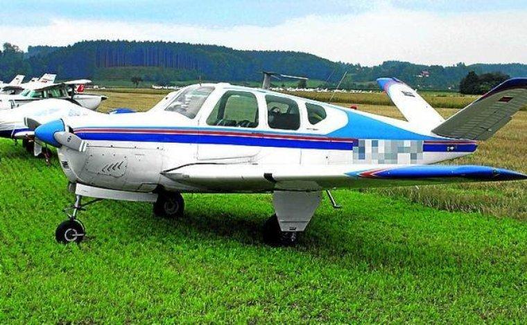 Una avioneta BE35, igual que la implicada en el suceso