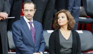 Imagen de archivo de Soraya junto a su marido Iván.