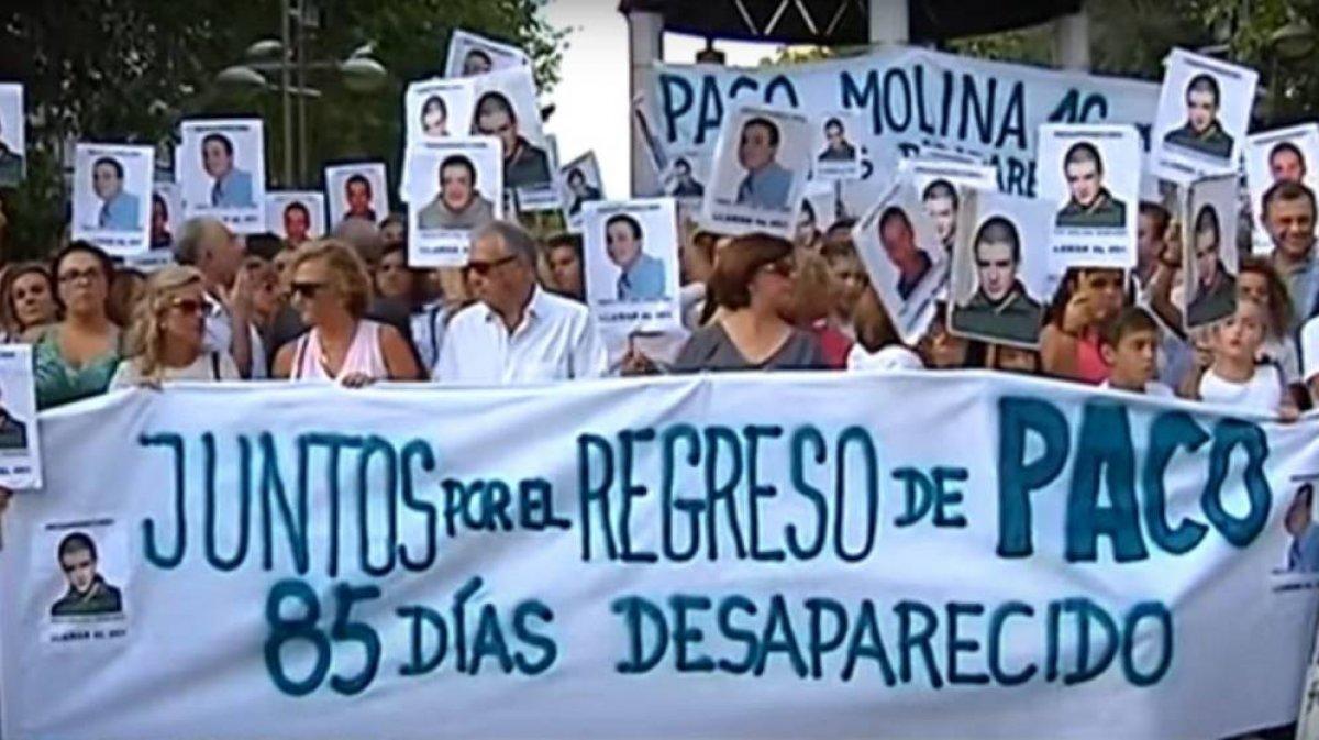 Isidro molina padre de un joven desaparecido en 2015 no for Paco familiar
