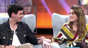 Alfred y Amaia durante su entrevista en 'Viva la vida'