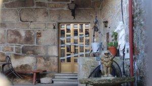 Imagen del domicilio en la parroquia de Esporiz de Monterroso