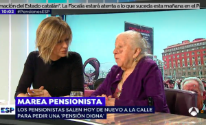 Imagen del programa 'Espejo Público'.