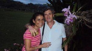 Nancy y su marido, el presunto asesino del pantano Jordi Magentí