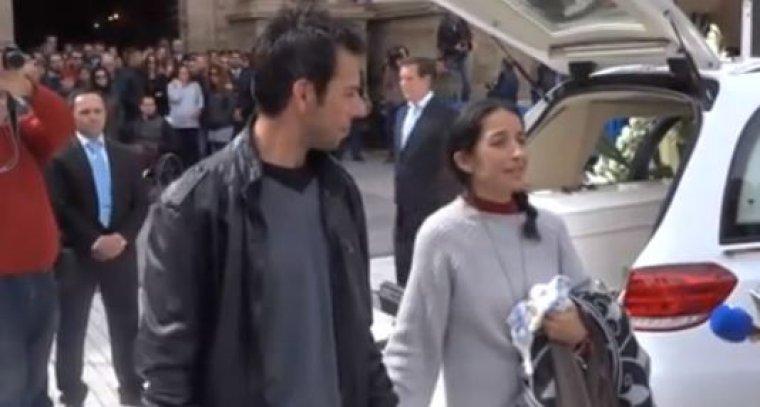 Los padres de Gabriel han atendido a los medios después del funeral
