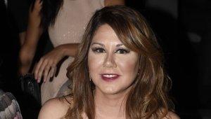Imagen de archivo de la cantante Tamara, antes de su cambio de imagen