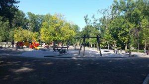 Imagen de archivo del parque Isabel la Católica.