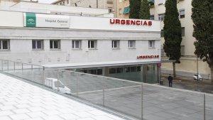 Imagen de las urgencias del hospital Virgen de las Nieves.