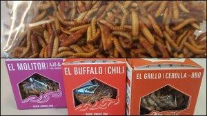 Los insectos que Carrefour ha puesto a la venta