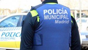 Imagen de archivo de un agente de la Policía Municipal de Madrid.