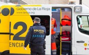 Herida una niña tras la colisión de tres vehículos cuando intentaban esquivar un coche en sentido contrario en La Rioja