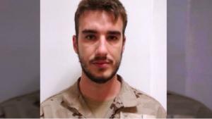 Imagen del militar fallecido.