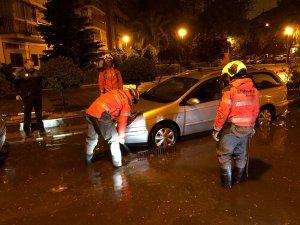 Las tormentas han provocado graves problemas en la Comunidad de Madrid