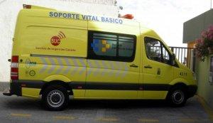 Personal del Servicio de Urgencias Canario (SUC) ha acudido al lugar