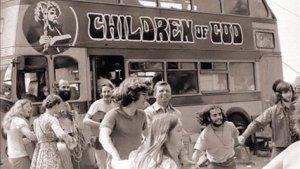 Primeros miembros de La Familia Internacional o Niños de Dios.