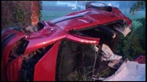 Una persona quedó atrapada tras sufrir un accidente con su vehículo en A Pastoriza