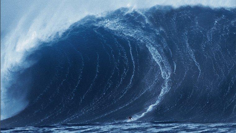 Las olas de grandes magnitudes son frecuentes en el océano austral