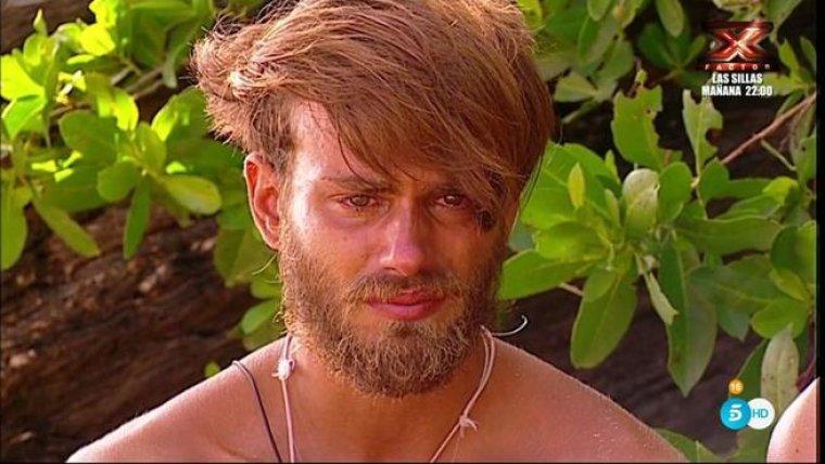 Sergio, muy afectado por no poder ver a su pareja.