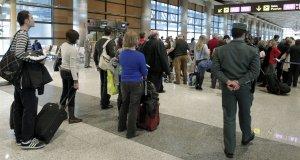 Detenidos tres jubilados en el aeropuerto de Barajas con 4 kilos de cocaína