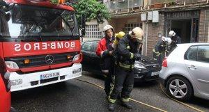 imagen de arxivo de unos bomberos en Andalucía