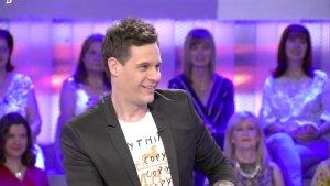 Imagen de Christian Gálvez durante el programa.