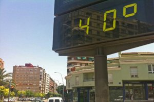 Las temperaturas pueden alcanzar los 40º en algunos puntos
